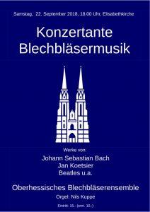 Konzertante Blechbläsermusik